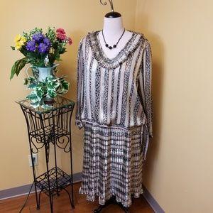 Vintage 80's Jo Hanna York by Joan Davis skirt set